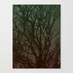 Ombre branches Canvas Print