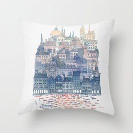 Serenissima - Venice in the Evening Throw Pillow