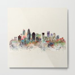 charlotte north carolina Metal Print