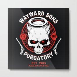 Wayward Sons Metal Print