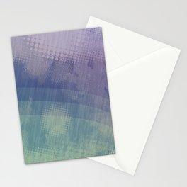 Halftone Borealis Stationery Cards