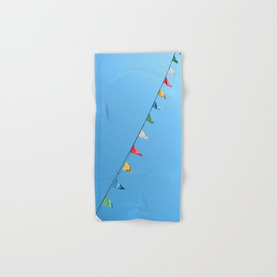 Colorful and minimal party Hand & Bath Towel