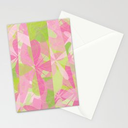 Abstract Floral Pattern - Spring Botanic Garden Stationery Cards