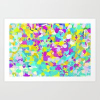 confetti Art Prints featuring Confetti  by Maggie Dylan