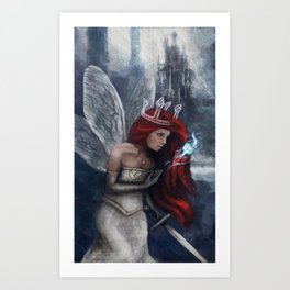 Child of Light Art Print