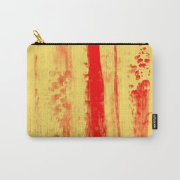 Gerhard Richter Inspired Abstract Urban Rain 3 Carry-All Pouch