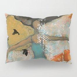 Floating. African American Art, Black Art, Women, Girls, Female Pillow Sham