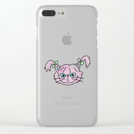 Fluffy Clear iPhone Case