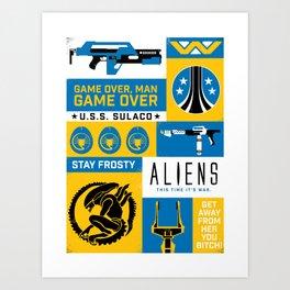 Game Over, Man Art Print