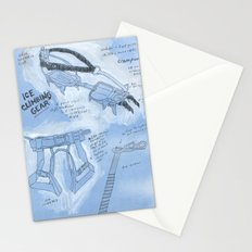 Ice Climbing 101 Stationery Cards