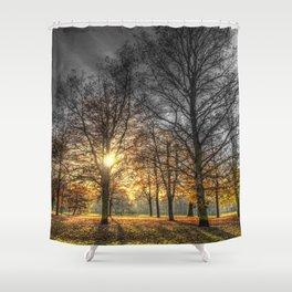 Mono Color Autumn Shower Curtain