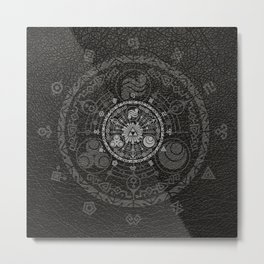 Legend Of Zelda Hyrule Historia Metal Print
