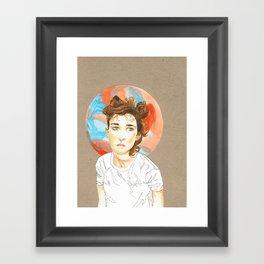 Plain Jane Framed Art Print