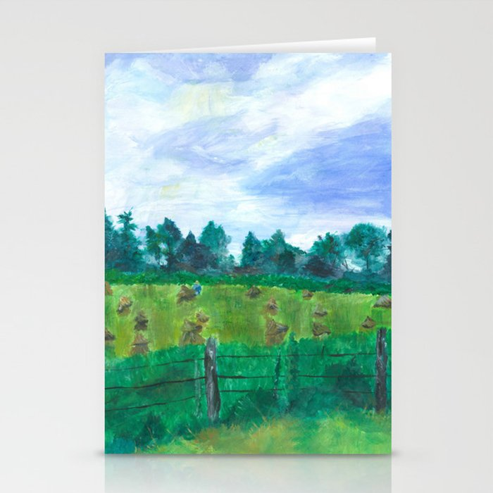 Haying on Hanover Hills Stationery Cards