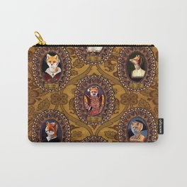 The Six Wives of Henry VIII as Foxes Carry-All Pouch