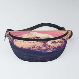 Mt Hood Mountain with Snow Fanny Pack