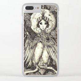 Harpy queen Clear iPhone Case