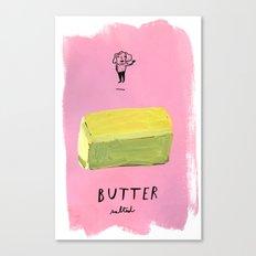 Butter Canvas Print