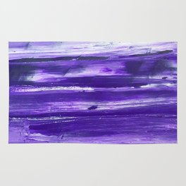 PURPLE EXPRESSION Rug