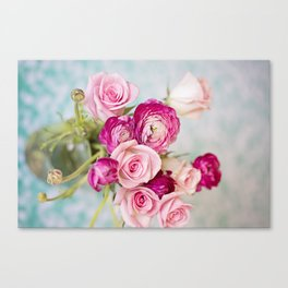 Bunches of Pink II Canvas Print