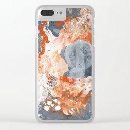 CREATIVE BURST Clear iPhone Case