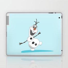 Olaf Frozen cartoon snowmen Laptop & iPad Skin
