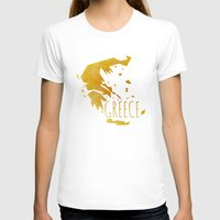 greece T-shirts featuring Greece by Stephanie Wittenburg