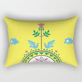 ETHNO BIRDS Rectangular Pillow