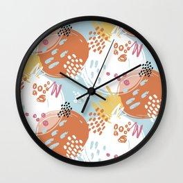Gentle Mottle | Basic Wall Clock