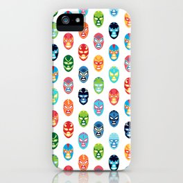 Lucha libre mask pattern iPhone Case