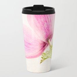 Linen In Pink Travel Mug