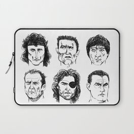 80s Action Stars Laptop Sleeve