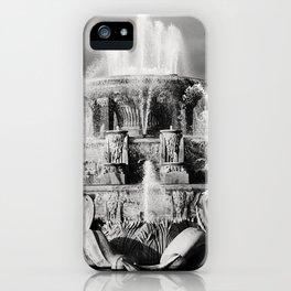 Chicago's Buckingham Fountain iPhone Case