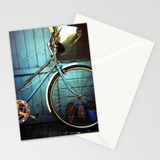 Bluebell the blue bicycle Stationery Cards