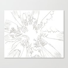 El Bosque Canvas Print