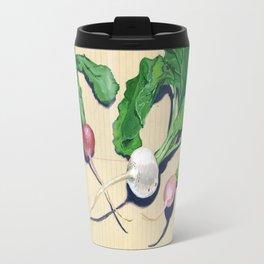 Easter Egg Radishes in Gouache Travel Mug