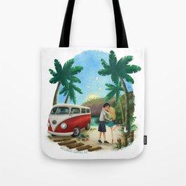 Summer Travels Tote Bag