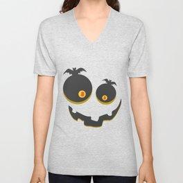 Scary Halloween Unisex V-Neck
