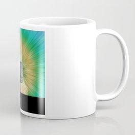 Tie Dye Disc Golf Basket Coffee Mug