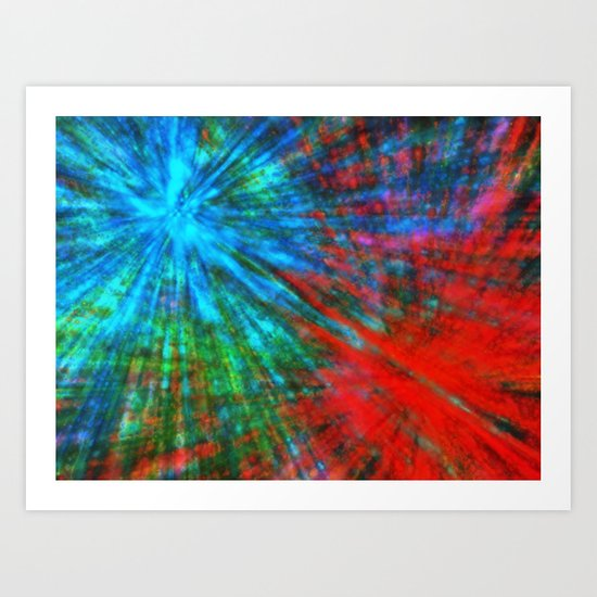 Abstract Big Bangs 001 by yiomultimedia