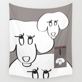 Animal Testing - Really people? Wall Tapestry