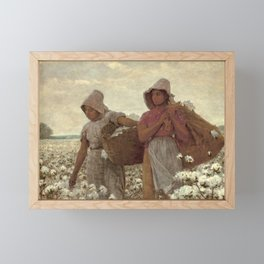 The Cotton Pickers by Winslow Homer, 1876 Framed Mini Art Print