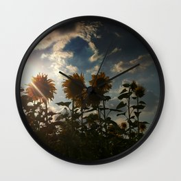 Just a perfect moment Wall Clock