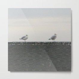 The Four Seagulls of the Apocalypse Metal Print
