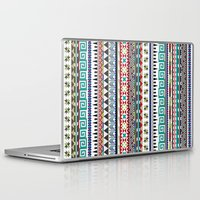 sweater Laptop & iPad Skins featuring Christmas Sweater by Kelsey Bruxvoort