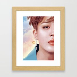 Sunlight - Jimin Framed Art Print