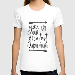 """Printable Art """" You Are Our Greatest Adventure"""" Nursery Art Nursery Prints Nursery Print T-shirt"""