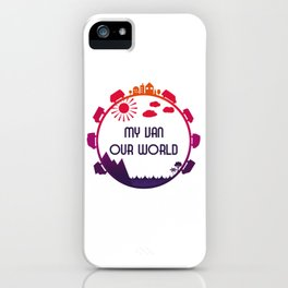 My Van Our World - Sunset iPhone Case
