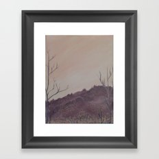 Grandpa's Sky Framed Art Print