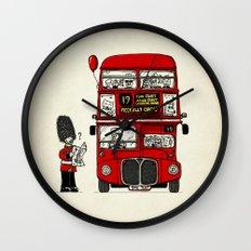 Lost in London Wall Clock